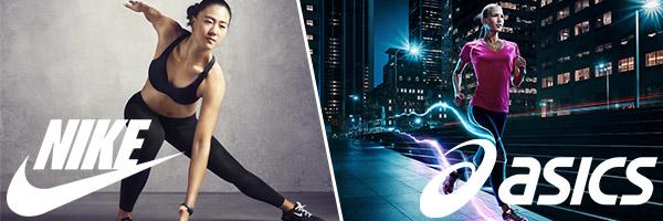 Nike, Asics